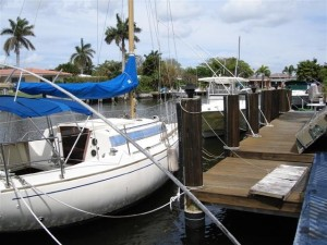 Dock For Rent At Private Dock LONG Term only Deep water/no fixed bridges.