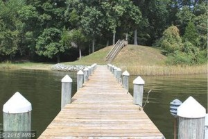 Dock For Rent At Private dock, calm waters with water and 20 amp shore power