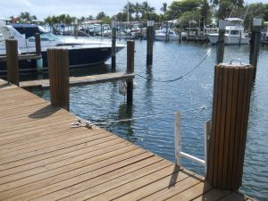 Dock For Rent At Beautiful, private location across the ICW from Boynton Beach Inlet!