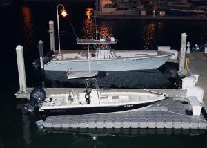 Dock For Rent At Sunset Marina, Key West, Two 40ft. Concrete Floating Docks For Rent,