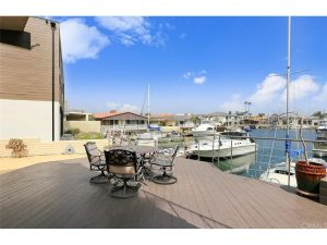 Dock For Rent At Private 50-ft boat dock in Huntington Harbour Marina