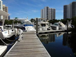 Dock For Rent At 50′ Slip in Mystic Pointe Marina, floating dock!