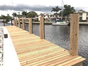 Dock For Rent At DOCK for Lease $22/FT w Airbnb room avail / Sunrise Key Boulevard FTL
