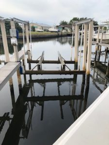Dock For Rent At Lift Slip inside Turtle Cove Marina