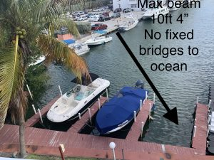 Dock For Rent At Boatslip in Eastern Shores