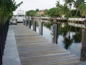 Dock For Rent At Las Olas Dock – Private & Upscale w/ 50/100 Amp, Water, etc.
