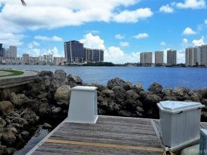 Dock For Rent At Deeded Dock Boat Slip at sought after Marina near Miami Florida