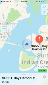 Dock For Rent At Bay Harbor Boat Slip- Up to 40 ft and 11 ft beam. Water & Shore Power