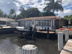 Dock For Rent At Boat Lift for Rent – Delray Beach, . Location! Location! Location!