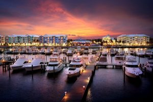 Dock For Rent At 65′ slip in beautiful Harborage Yacht Club, Stuart FL. Private club