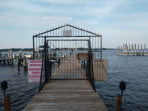 Dock For Rent At Mariners Point Yacht Club slip for sale