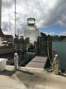 Dock For Rent At Boat Slip w/ 24,000lb Lift – Collins Ave, Miami Beach