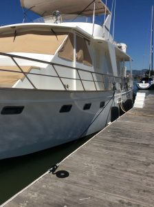 Dock For Rent At Spectacular 76″ End Tie Available for up to 6 months Emerycove, Marina