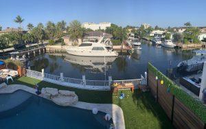 Dock For Rent At Huge open 70 ft dock space in a safe, quiet Boca neighborhood