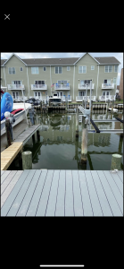 Dock For Rent At Private Canal slip leading out to Bay