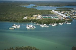 Dock For Rent At 38′ slip at Calusa Marina Yacht Club. Water and pump out included.