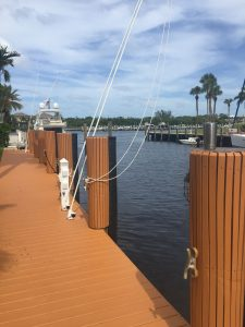 Dock For Rent At Boca Raton, Fl, 80 ft private dock, wide canal, No Fixed Bridges