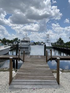 Dock For Rent At Private Dockage Manatee Pocket