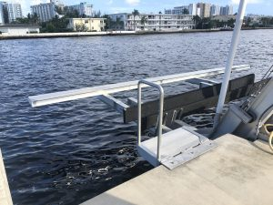 Dock For Rent At Elevator Lift on Intracoastal waterway. Water & Electric Included