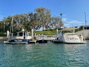 Dock For Rent At 50′ and 60′ boat slips in Newport | Lido Island