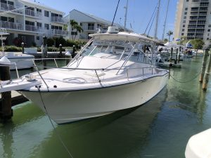 Dock For Rent At Full live aboard boat slip in quiet private 48 slip marina.