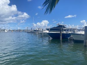 Dock For Rent At GrandView Palace Marina 40 foot Slip for Rent